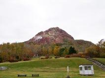 Showa-Shinzan is is a volcanic lava dome in the Shikotsu-Toya Na