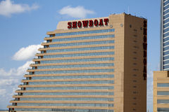 The Showboat Casino in Atlantic City, New Jersey Stock Images