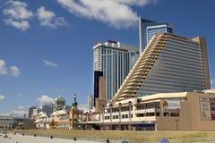 Showboat, Taj Mahal ard neemt Casino in Atlantic City, New Jersey zijn toevlucht Royalty-vrije Stock Afbeelding