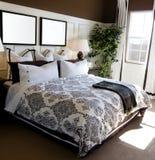 Showcase bedroom interior stock image