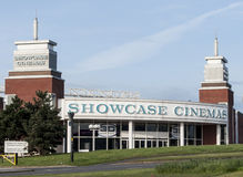 Showcase cinema building Royalty Free Stock Photos