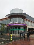 Showcase Cinema De Lux en el lugar de la herencia, Dedham, mA imagenes de archivo