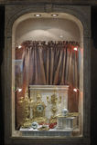 Showcase the clock Royalty Free Stock Photography