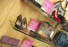 Showcase do boutique imagem de stock royalty free