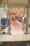 Showcase e porta. Imagens de Stock Royalty Free