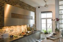 Showcase Kitchen Royalty Free Stock Photo