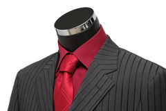Showcase Mannequin Dressed In Suit Royalty Free Stock Photos