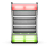Showcase refrigerator with light inserts Royalty Free Stock Photos