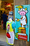 Showcase souvenir shop Royalty Free Stock Image
