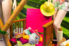 Showcase of SPA salon Stock Image
