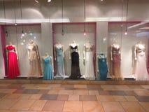 showroom of wedding dresses Stock Photos