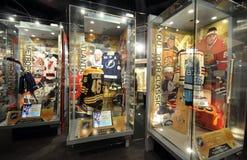 Showcases exhibits Stock Photos