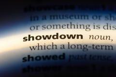showdown fotografia stock