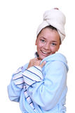 After shower Stock Photography