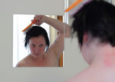 After the shower Royalty Free Stock Photo