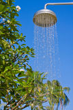 Shower on the background of blue sky Royalty Free Stock Photos