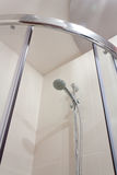 Shower in bathroom Royalty Free Stock Photo