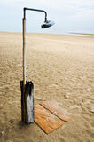 Shower on the beach Royalty Free Stock Photos