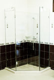 Shower cabin. Royalty Free Stock Photography