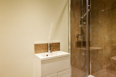 Shower closet Royalty Free Stock Image