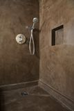 Shower corner Royalty Free Stock Photo