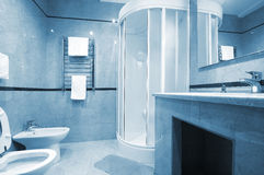 Shower cubicle royalty free stock photos