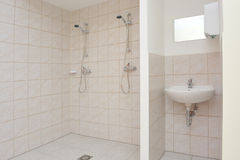 Shower cubicle Stock Images