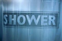 Shower curtain Royalty Free Stock Photos