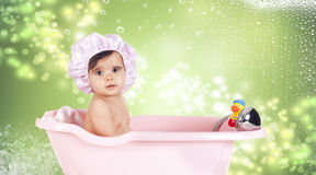 Shower duck Royalty Free Stock Photos