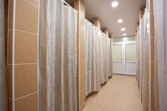 Shower. Enclosures, screens and rooms stock photos