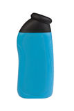 Shower gel bottle with blank label Stock Images