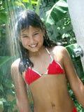 Shower girl. Stock Image