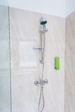 Shower in a gym Stock Photography