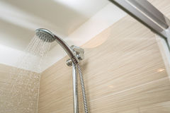 Shower. Head with dropping water Stock Image