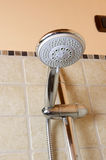 Shower head and faucet Royalty Free Stock Photography