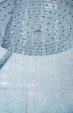 Shower head with flowing water Stock Image