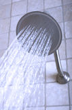 Shower head in modern bathroom. Stock Photo