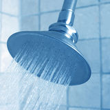 Shower head in modern bathroom. Royalty Free Stock Photography