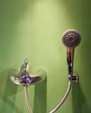 Shower head and tap Royalty Free Stock Photos