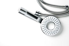 Shower head with tube Royalty Free Stock Image