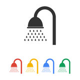 Shower icon. Flat design style Stock Photo