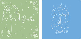 Shower Invitations Stock Images