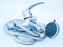 Shower mixer Royalty Free Stock Photo