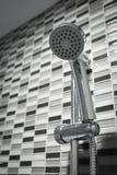 Shower in modern bathroom Royalty Free Stock Image
