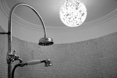 Shower room. In a boutique Hotel in Copenhagen Denmark royalty free stock photo
