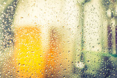 Shower while running ( Filtered image processed vintage ef Stock Images