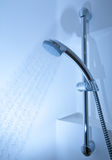 Shower with running water. (color toned image Royalty Free Stock Image