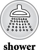 Shower sign Stock Images