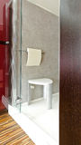 Shower stool Royalty Free Stock Photo