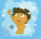 Shower time Royalty Free Stock Images